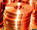 Медь холоднокатаная ленточная ширина 7 толщина 1 мм по ГОСТ 1173-06 металлическая цветная прокат