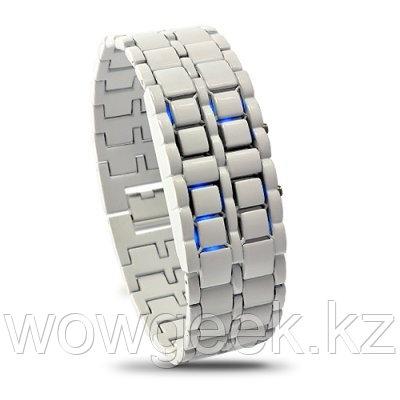 Светодиодные часы - Iron Samurai Shiro
