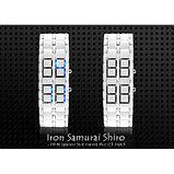 Светодиодные часы - Iron Samurai Shiro, фото 4