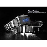 """Светодиодные часы с прокруткой текста """"Blue Fiction"""", фото 4"""