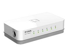 D-Link DES-1005C/A1A  5-порт неуправляемый коммутатор 10/10