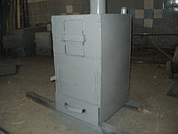 Печь на газе и на твердом топливе до 200 кв.м