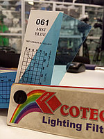 Cotech 061 MIST BLUE светофильтр для осветительных приборов, фото 1