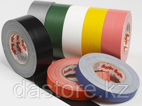 Le Mark CT50025BK Тэйп (Gaffer Tape), узкий, цвет черный, фото 2