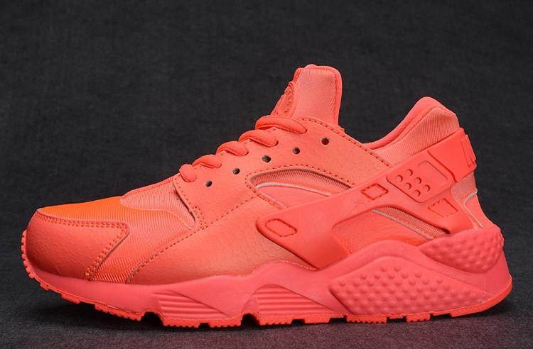 Кроссовки Nike Air Huarache оранжевые