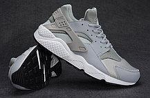 Кроссовки Nike Air Huarache серебро, фото 3