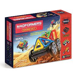 Magformers Магнитный конструктор Набор Racing Set из 39 элементов
