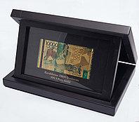 Сувенирная банкнота 10000 тенге в подарочном боксе, фото 1