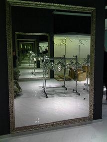 """Зеркало в багете, магазин шуб и меховых изделий ZIMART в ТРЦ """"ADK"""" (14 дек 2015) 2"""