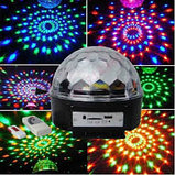 Диско шар Magic Ball Light MP3 (цветомузыка), фото 3