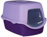 Trixie фиолетовый/сиреневый Закрытый туалет для  кошек 40×40×56см