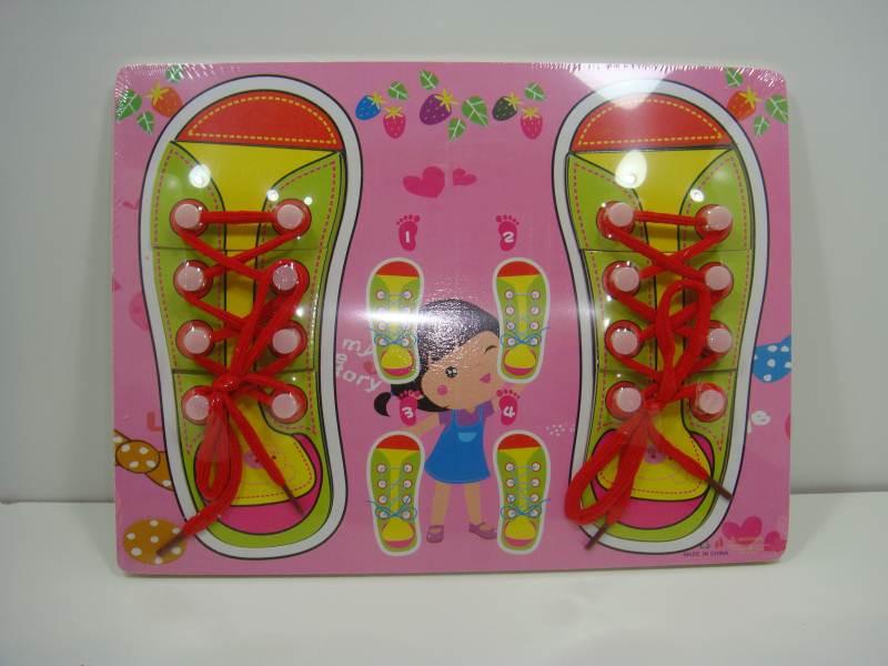 Шнуровка ботинки