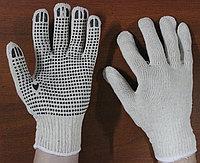 Перчатки трикотажные кругловязаные с ПВХ покрытием, Рабочие перчатки оптом, Перчатки рабочие, фото 1
