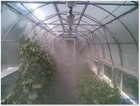 Системы туманообразования для теплиц, парников и грибниц