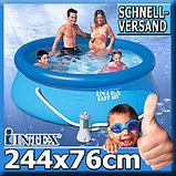 Надувной бассейн Intex Easy Set Pool  (244 x 76 см.), фото 3