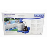 Песчаный электрофильтр для каркасных и надувных бассейнов Intex , фото 3