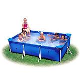 Каркасный сборный бассейн Intex Rectangular Frame Pool  260х160х65 см. , фото 4