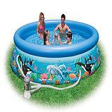 Надувной бассейн Intex Easy Set Pool. 305 х 76 см. с фильтром , фото 4