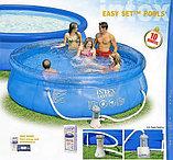 Надувной бассейн Intex Easy Set Pool. 366 х 91 см. с фильтром , фото 5
