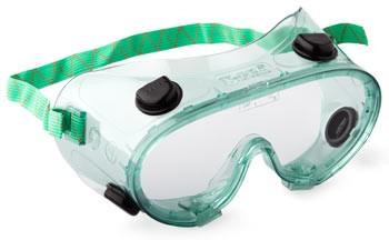 Очки с непрямой вентиляцией