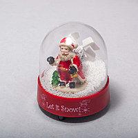Дед Мороз в шаре (10см)
