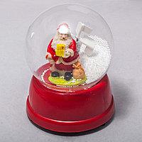 Дед мороз в шаре (13см)