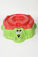 Песочница Marian Plast 432 Собачка с крышкой расцветки в ассортименте, фото 1
