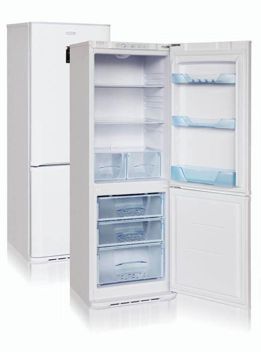 Холодильник двухкамерный Бирюса-133D с дисплеем ( 1750*600*625 мм) белый