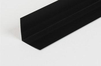 Пластиковый уголок (черный)