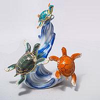 """Фарфоровый сувенир """"Морские черепашки"""", фото 1"""