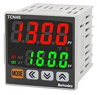Экономичный температурный контроллер с двойным дисплеем TCN4S-24R