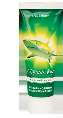 Акулий жир и лесной орех от варикозного расширения вен