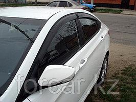 Дефлекторы окон 4 door HONDA CIVIC 5D 2006- Hatchback