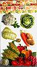 """Декоративные наклейки для кухни """"Овощи"""" 5D"""