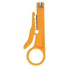 Инструмент для удаления изоляции с информационного кабеля