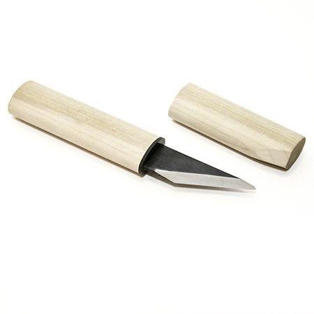Ножи-косяки Yoshiharu, японские 2сл. прав. и лев. с дерев. ручкой и ножнами