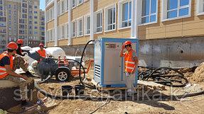 пневмонагнетатель EUROMIX 300 TRAIL и винтовой комперссор Dalli