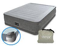 Надувная кровать Intex Comfort-Plush 64414 с насосом
