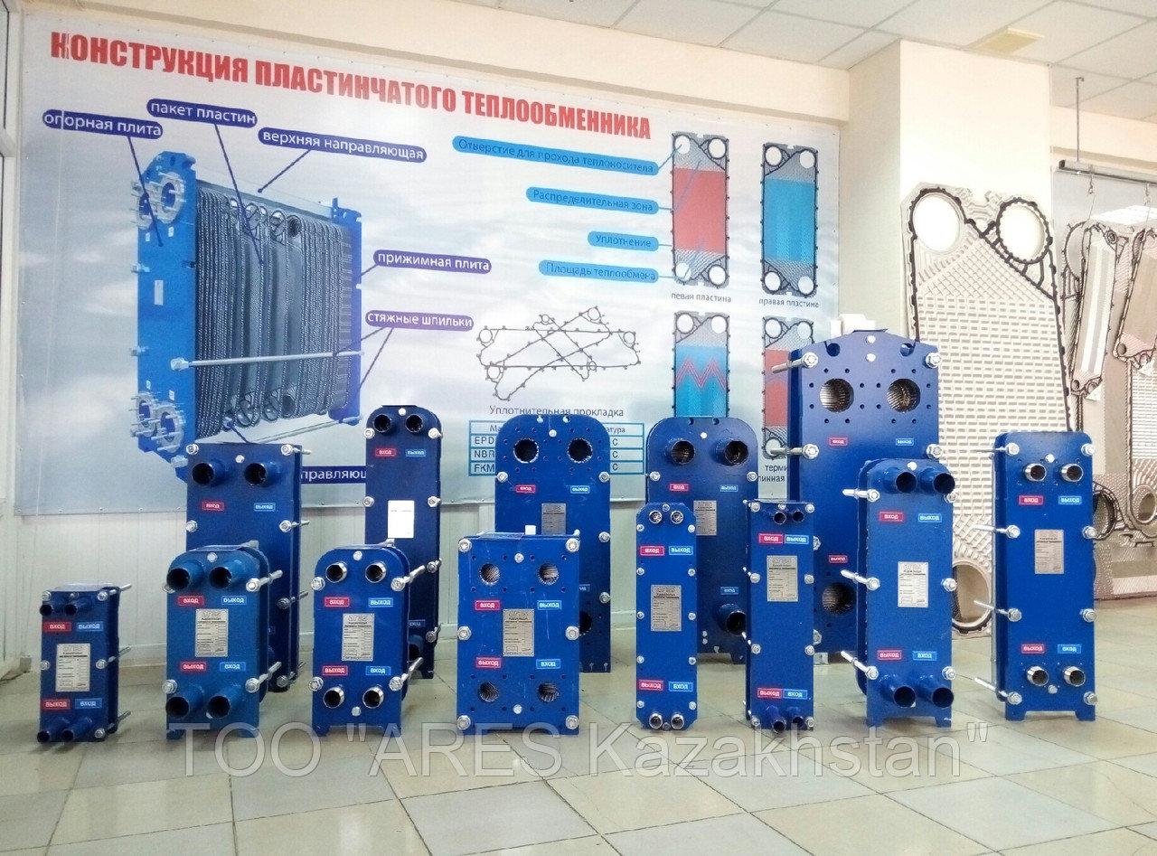 Пластинчатый теплообменник для системы горячего водоснабжения