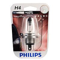 Philips Vision Plus галогеновая лампа для фар головного освещения H4 B1