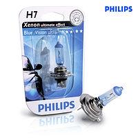 Philips Bluevision Ultra галогеновая лампа для фар головного освещения H7 В1