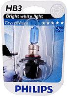 Philips Crystal Vision галогеновая лампа для фар головного освещения HB3