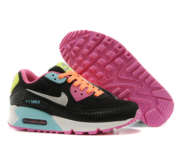 Кроссовки Nike Air Max 90 Essential Black Rainbow (36-40)