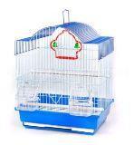 Клетка для мелких птиц, модель А1003, 30х23х39см, крашенная