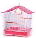 Клетка для птиц, модель А4001-1, 35х28х46 см, крашенная