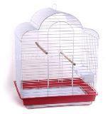 Клетка для средних попугаев, модель И800, 52*41*70 cm, крашенная, фото 1