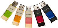 Флеш-память 16GB USB RIDATA ID50 CUBE  Black-red, фото 1