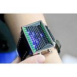 Наручные часы Эффект 3D LED Watch - Blue LED, фото 2