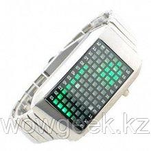 Наручные часы Zero Kelvin (зеленые светодиоды)