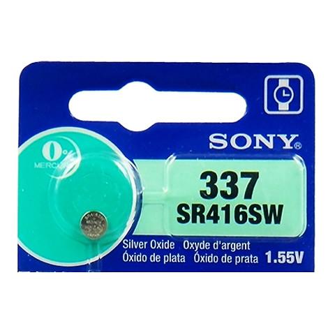 Батарейка Sony 337 1.55v  SR416SW